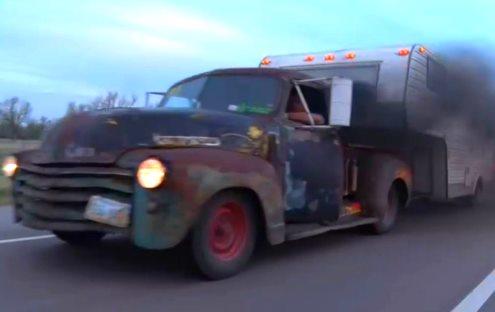 Diesel Turbo RAT ROD Pickup Truck