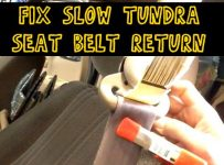 Fix Slow Toyota Tundra Seat Belt