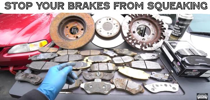 How to Stop and fix Your Brakes from making noise