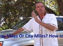 Highway Miles Or City Miles how to check